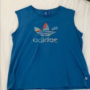 """Size XL Adidas""""Muscle Tee"""""""